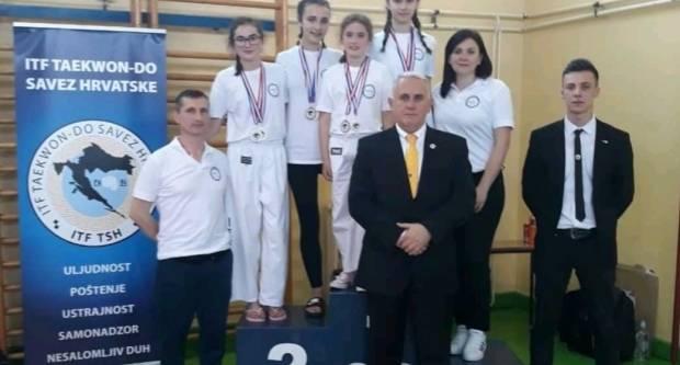 Slavonski Brod bogatiji za četiri prvakinje Hrvatske i osam medalja