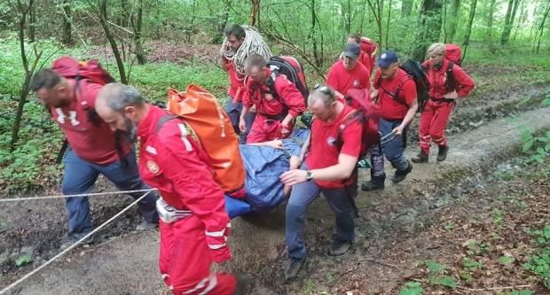 Brzom reakcijom HGSS-a Slavonski Brod ozlijeđena osoba je spašena