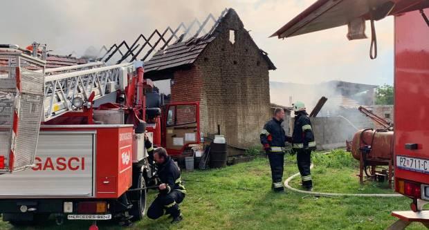 Požar na štaglju u Vetovu: U sijenu pronađeno beživotno tijelo 40-godišnjaka
