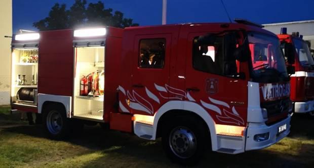 Po prvi put u povijesti DVD Sibinj je kupio moderno navalno vatrogasno vozilo