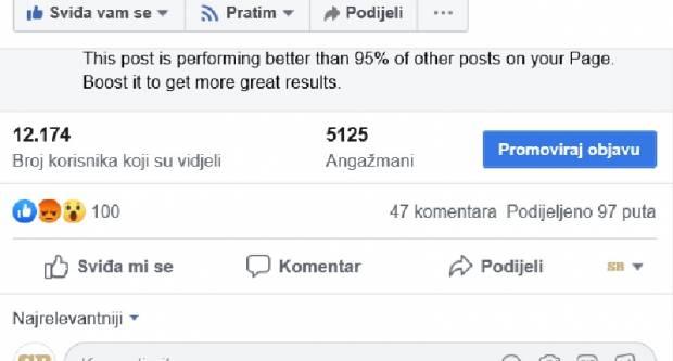 Jedan Brođanin dobio 700 kuna kaznu zbog komentara na Facebook-u, drugi 400
