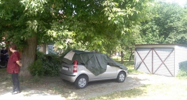 Zbog jednog jedinog automobila građani Hoffmanove ulice nemaju struju.....