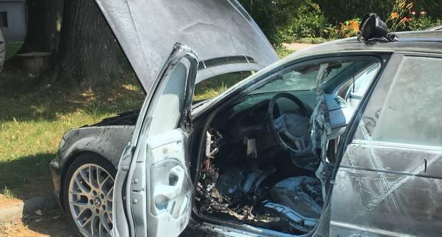 U Babinom Viru izgorio osobni automobil
