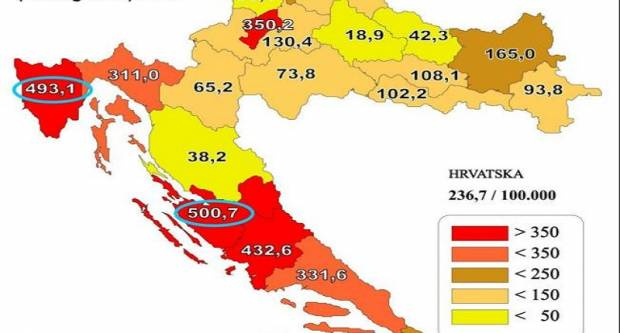 Najmlađi ovisnik u Hrvatskoj imao je 14, a najstariji 73 godine