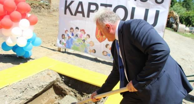 Povodom Dana općine Kaptol položen kamen temeljac za izgradnju dječjeg vrtića