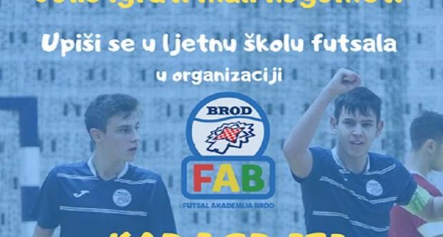 SLAVONSKI BROD - U tijeku su upisi za školu futsala
