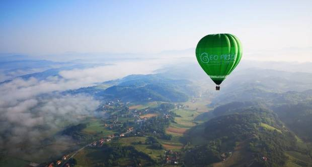 Balon na vrući zrak u subotu na Jankovcu