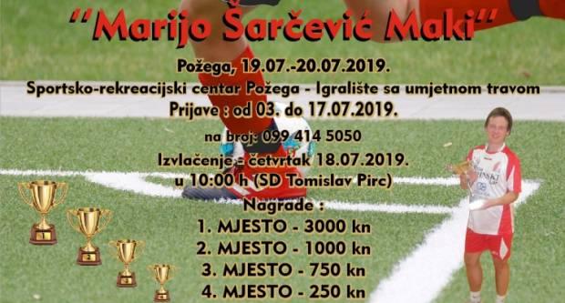 Raspored utakmica 4. Memorijalnog malonogometnog turnira za tragično preminulog Marija Šarčevića Maki-a