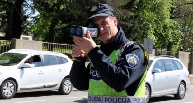 Vozači oprez !! Danas policija pojačano kontrolira brzinu