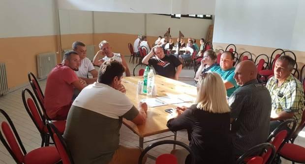 Stranka Ivana Pernara danas u Slavonskom Brodu održala koordinacijski sastanak