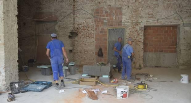 Radovi na uređenju stare zgrade Gradske knjižnice i čitaonice napreduju prema planu