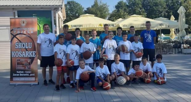 U Požegi održan košarkaški kamp