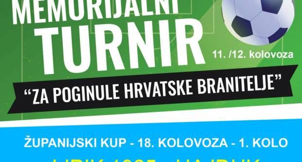 U Pakracu se idući vikend održava turnir za poginule hrvatske branitelje