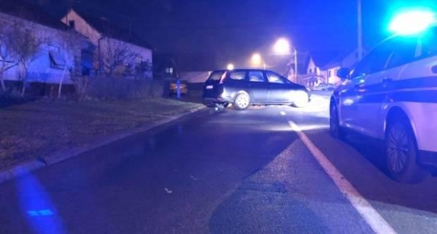 18-godišnji vozač udario u automobil te pobjegao, policija ga pronašla