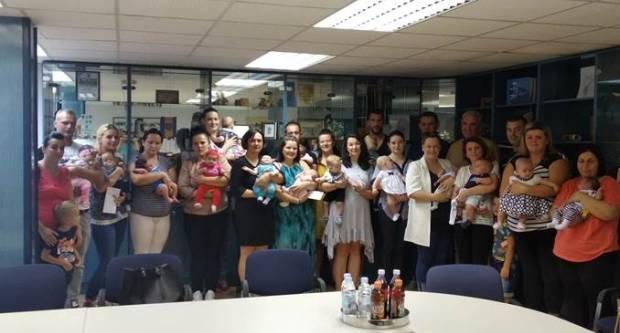 Darivanje najmlađih povodom Dana Općine Velika