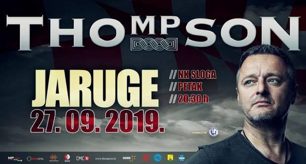 Thompson uskoro u našoj županiji