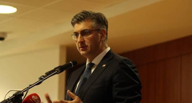 Premijer Andrej Plenković u Orahovici je izrazio zadovoljstvo dinamikom provedbe projekta Slavonija, Baranja i Srijem