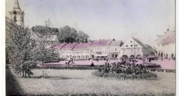 Razglednica iz Požege 1950-ih godina
