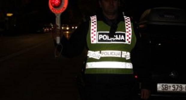53-godišnjak u Bektežu zatečen u činjenju više prometnih prekršaja