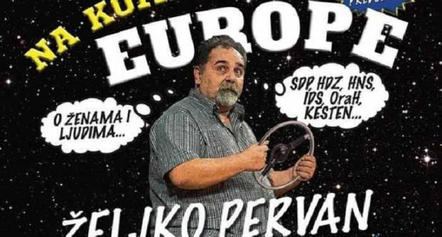 Pervanov show ʺNa komadiću Europeʺ večeras u Kutjevu