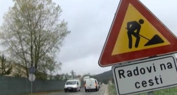 Zatvorena makadamska cesta Orljavac - Podsreće