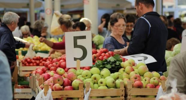 Raznolika ponuda na Brodskoj tržnici