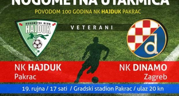 Sutra Dinamo dolazi Hajduku u Pakrac