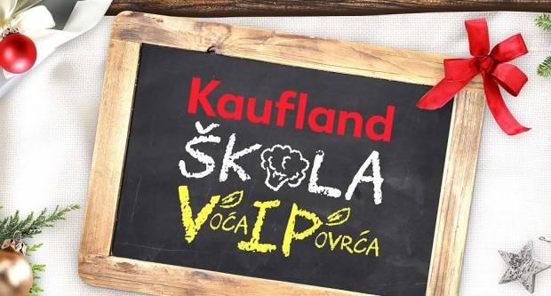 Kaufland ponovno donira - školarcima 130 tona voća i povrća