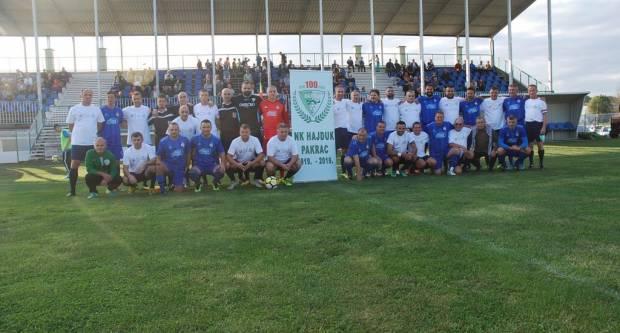 Golijada na utakmici veterana Hajduka Pakrac i Dinama: U revijalnom tonu 12 pogodaka
