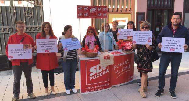 Forum žena GO SDP-a Požega obilježava Nacionalni dan borbe protiv nasilja nad ženama