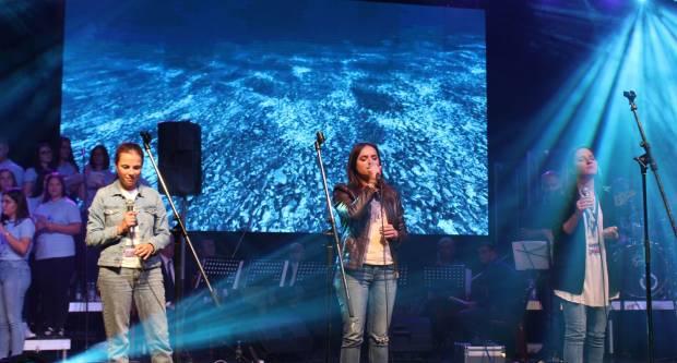 """Glazbeno-duhovni koncert """"Otvorite vrata Kristu 2019"""" u dvorani """"Tomislav Pirc"""" u Požegi 21.9.2019."""