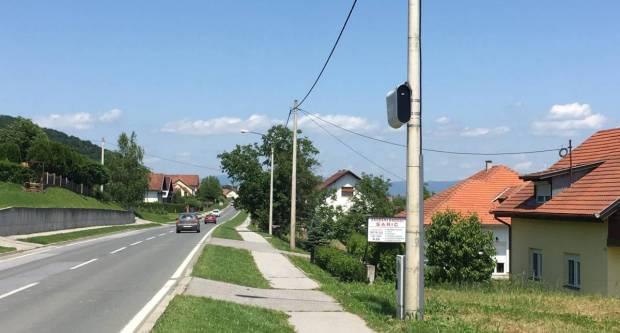 NOVE KAMERE UČINKOVITE: Naša županija će iduće godine dobiti još kamera za nadzor brzine na novim lokacijama