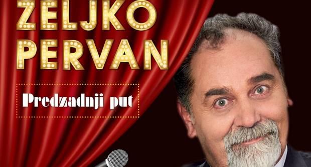 SLAVONSKI BROD - Željko Pervan ponovo u Slavonskom Brodu s novom predstavom - ʺPredzadnji putʺ