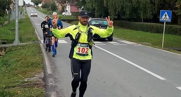 Požežanin Gabrijel Lešić trči 18. memorijalni ultramaraton od Zagreba do Vukovara (344km)