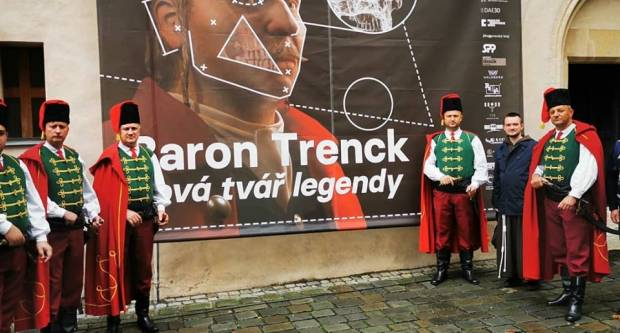 FOTO: Trenkovi panduri u Češkoj na izložbi ʺBarun Trenk novo lice legendeʺ