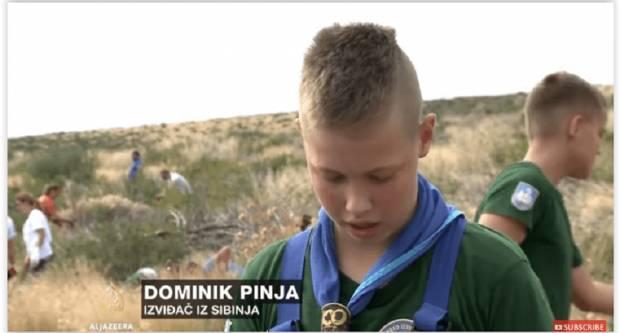 I sibinjski izviđači u akciji obnavljanja opožarene šume u Dalmaciji