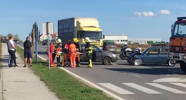 Teška prometna u Požegi - Vozači završili u bolnici s teškim ozljedama