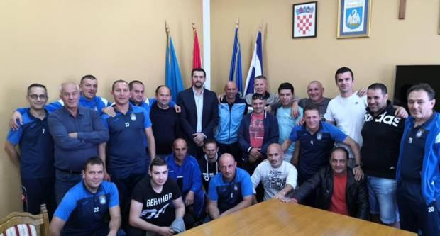 Načelnik Pavić primio veterane iz Trilja