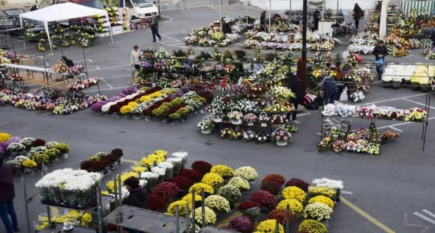 BLIŽI SE BLAGDAN SVIH SVETIH: Od danas cvijeće možete kupiti iza požeške Gradske kuće