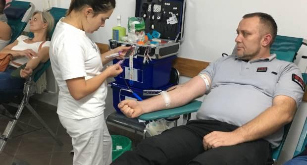 U Požegi je u tri dana 326 dobrovoljnih darovatelja dalo krv