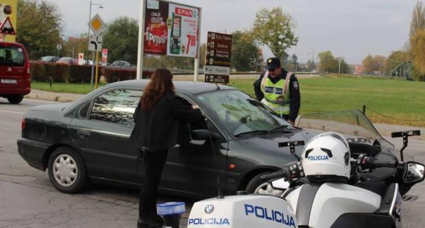 Rekorder vikenda 39-godišnji vozač s 1,70 promila zaustavljen u Požegi