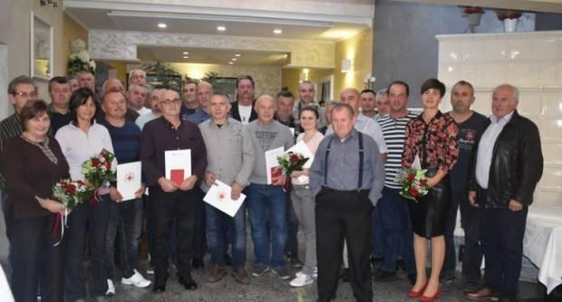 Dodijeljena priznanja dobrovoljnim darovateljima krvi