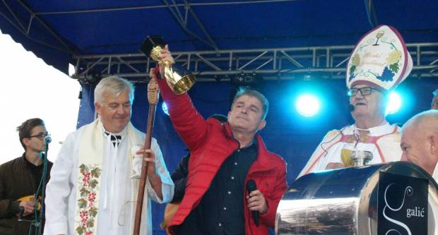 Martinje u Kutjevu 2019. - Martinjski kum Ivica Nikolić 10.11.2019.