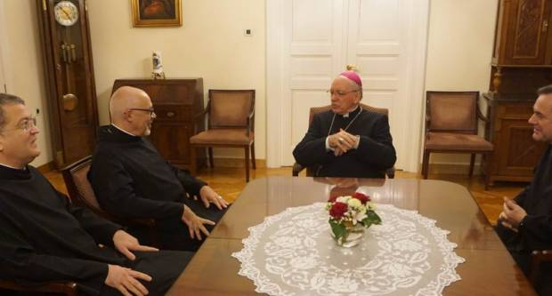 Provincijal Milosrdne braće posjetio biskupa Škvorčevića