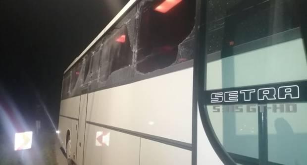 Sudar autobusa koji je prevozio vojnike i traktora s beračem u Gradcu