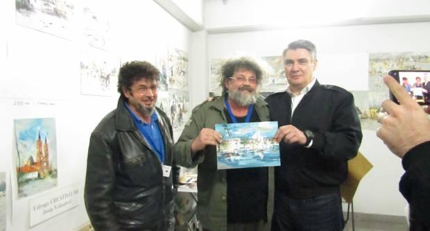 Na radost okupljenih Zoran Milanović posjetio je Katarinski sajam