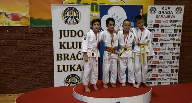 Judaši Judokana se s Međunarodnog turnira u Sarajevu vratili s medaljama