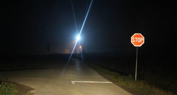 Reflektorsko svjetlo u Požeškoj Koprivnici otežava vozačima vožnju noću