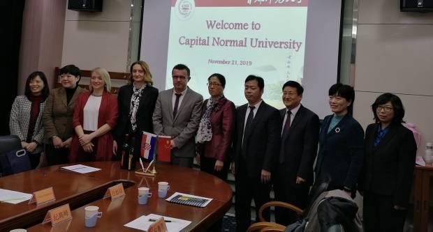 Izaslanstvo požeškog Veleučilišta potpisalo ugovor o suradnji s fakultetom u Pekingu