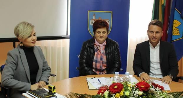 Svečano potpisivanje ugovora za izgradnju novog Dječjeg vrtića u Kutjevu